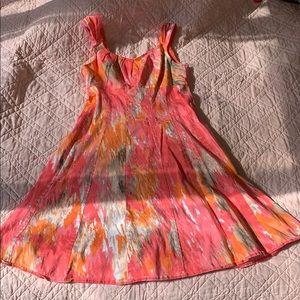 Pink Design Dress